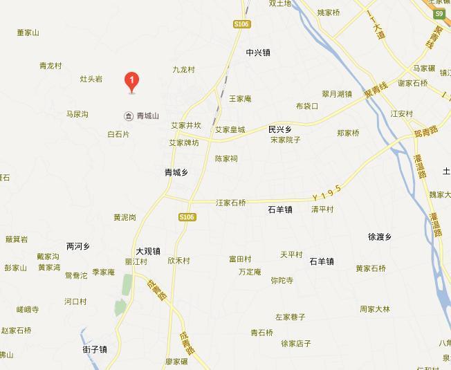 都江堰大观镇(青城山脚下)图片