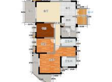 高新区,中和镇,红树湾,3室2厅,115㎡
