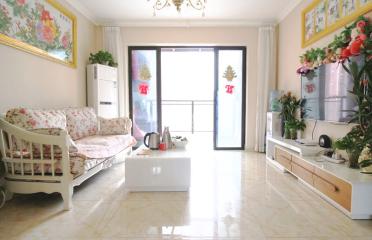 大客厅 拧包入住装修3房2厅1卫 梧桐春晓 采光好 房型正