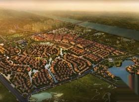 都江堰,翠月湖,海航中国集锦润青城