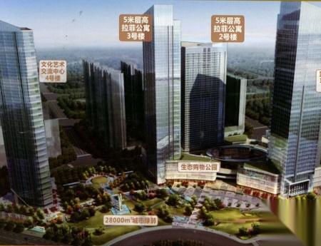 章江新区,长征大道东,中创国际城