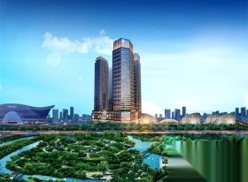 高新区,金融城,中国华商金融中心