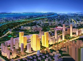 建邺区,湖西街,南京金融城