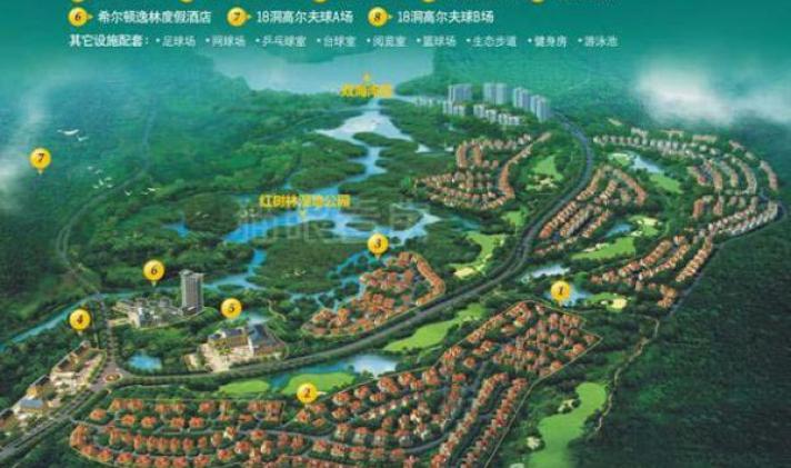【12图】海南8000亩湿地公园,富力红树湾精装3房天然
