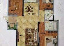 新罗区,城南,万达华城E区,3室2厅,129㎡
