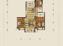 运河区,运河区,保利花园,3室2厅,132.68㎡