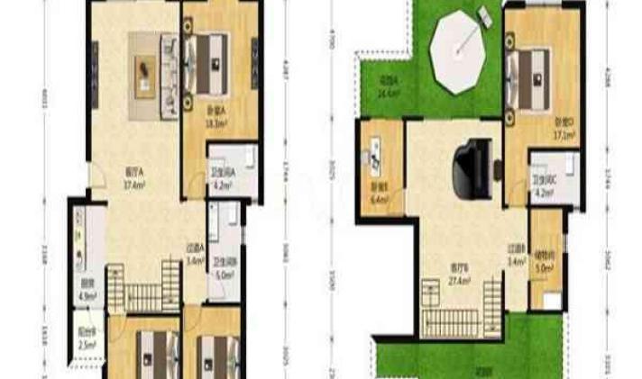 武侯区晋阳 红运花园佳苑 4室2厅3卫 165平米
