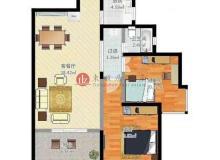 灞桥区,中新浐灞半岛,荣德棕榈阳光,2室2厅,87.16㎡