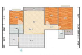 汉台区,汉台,海德理想城,海德理想城,3室2厅,120.83㎡