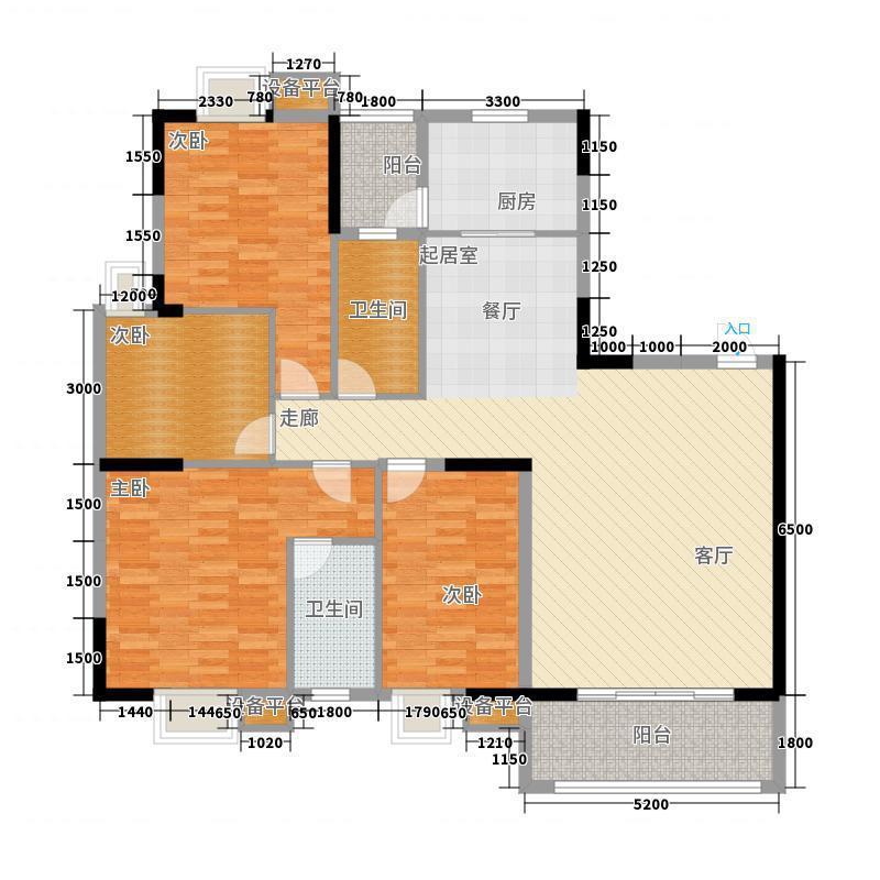 房子要大平层南北通透的户型非常好用