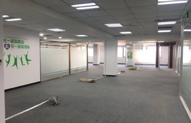 东四环四惠地铁站旁689平米精装修办公室内有10个房间可分租